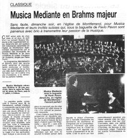 _3 - 2000-03-12 Concert Clermont-Ferrand Article La Montagne