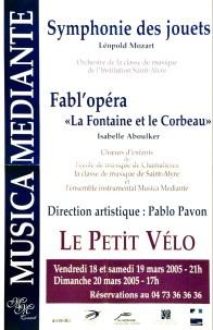 _4 - 2005-03-18au 20 Concerts Clermont-Ferrand Affiche