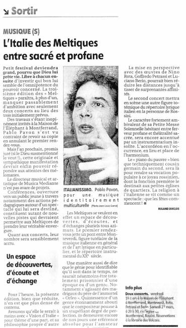 _6 - 2004-03-19+27 Concerts Meltiques Article 2 La Montagne