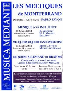 _8 - 2002-03-12au17 Concerts Clermont-Ferrand Meltiques Flyer