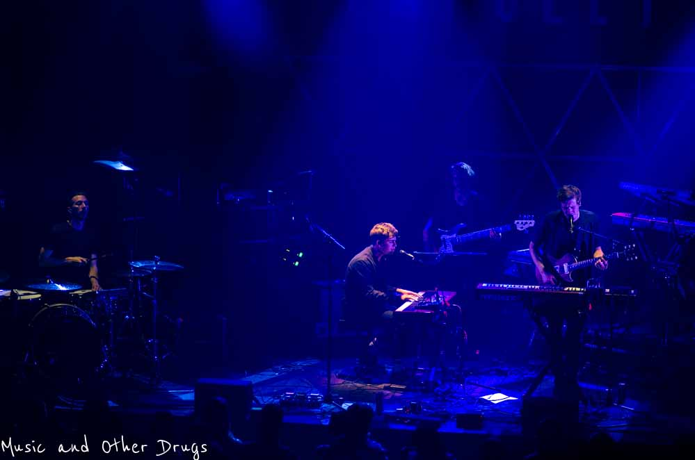 Aquilo opened up the show for Låpsley North American Tour
