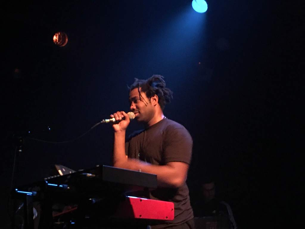 Sampha performing at Brooklyn's Music Hall of Williamsburg