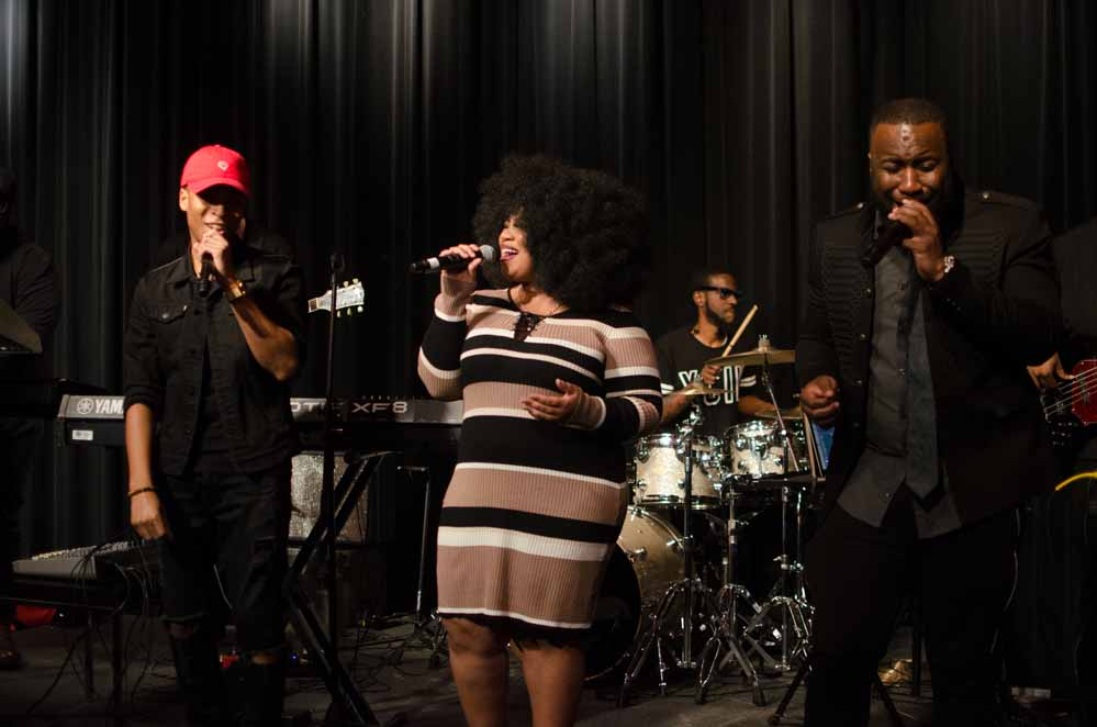 "Motown Records Signees performing Stevie Wonder's ""Love's In Need of Love Today"""