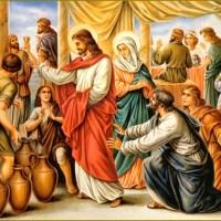 Las bodas de Caná; reflexión, meditación, mensaje, oración y tarea del día.