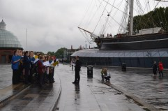 Performing in London's Greenwich (Cutty Sark) as part of the Cultural Olympiad
