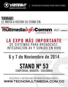 Yamaki.Shure TecnoMukltimedia Colombia