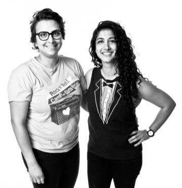 Becky Gebhardt and Mona Tavakoli