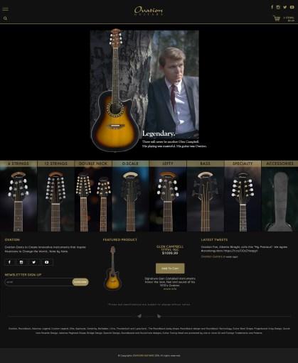Ovation Home Page