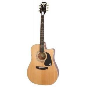 Guitarra acústica epiphone pro 1 ultra natural