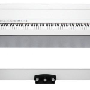PACK PIANO DIGITAL KORG LP-380 BLANCO