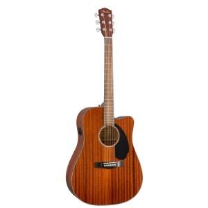 guitarra acústica fender cd 60sce all mahogany