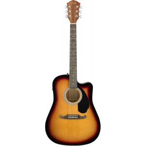 Guitarra acústica fender fa 125ce sunburst