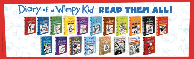 Read all of the books in the bestselling Diary of a Wimpy Kid series