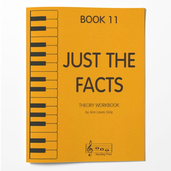 Piano Theory Worksheets Piano Theory Workbook Just The Facts Book 11