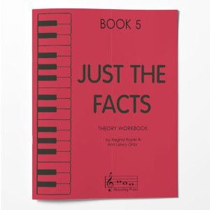 Piano Theory Worksheets Piano Theory Workbook Just The Facts Book 5