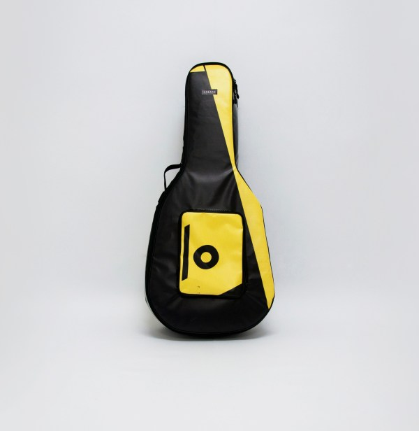 eco handcrafted acoustic guitar bag music bags.crea-re.com 1