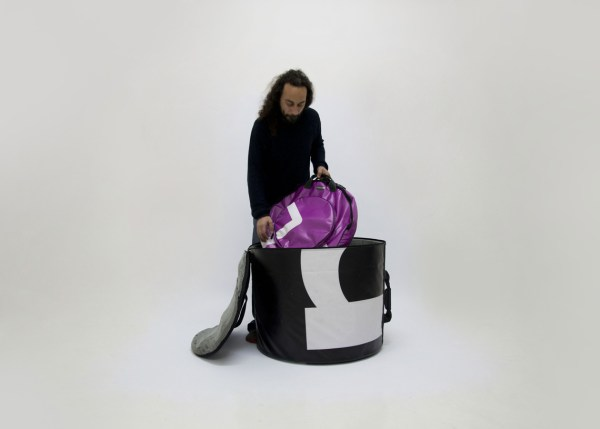 bass drum bag from handcrafted drum set bag by music bags.crea-re.com