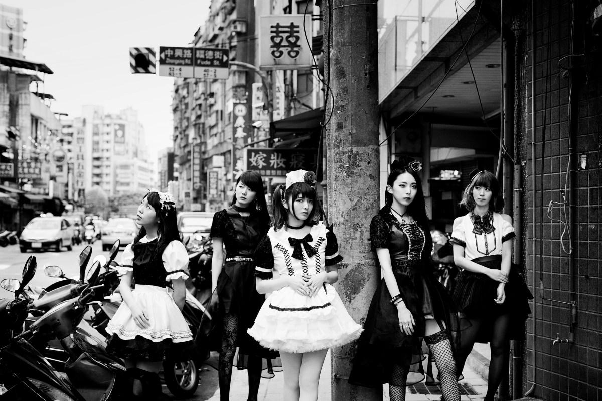 BAND-MAID、全編、台湾撮影を敢行した新曲MV&アートワークを公開!