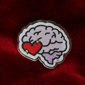 Love On the Brain Pin