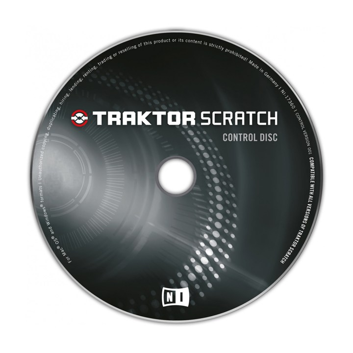 Native Instruments Płyta CD z kodem czasowym (timecode) 1