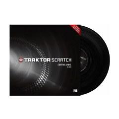 Native Instruments Traktor Scratch Pro Vinyl Black