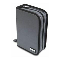 UDG CD Wallet 100 Steel Grey/Orange Inside