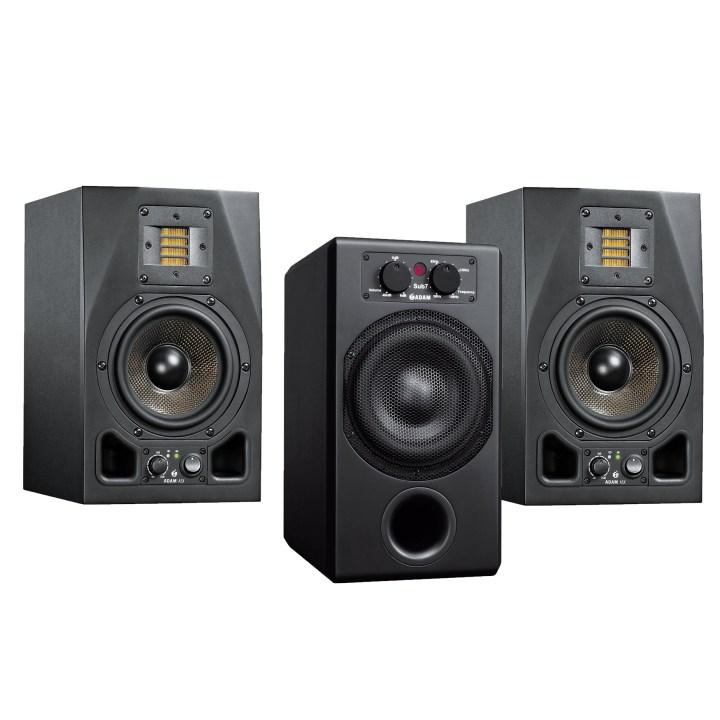 adam audio zestaw 2x a5x + sub7
