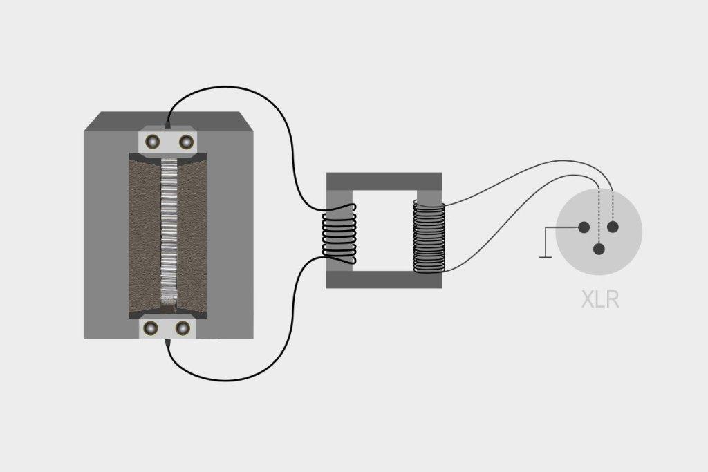 Zasada działania mikrofonu wstęgowego