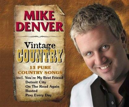 Mike Denver Vintage Country CD