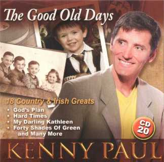 the good old days kenny paul cd 20