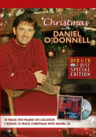 christmas with daniel o'donnell - cd & dvd set