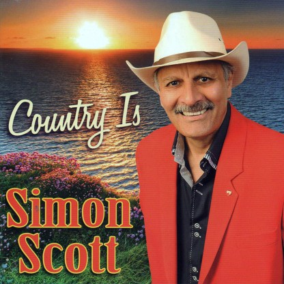 Country Is Simon Scott CD