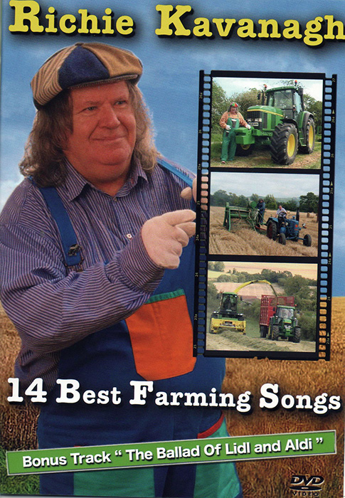 Richie Kavanagh 14 Best Farming Songs DVD
