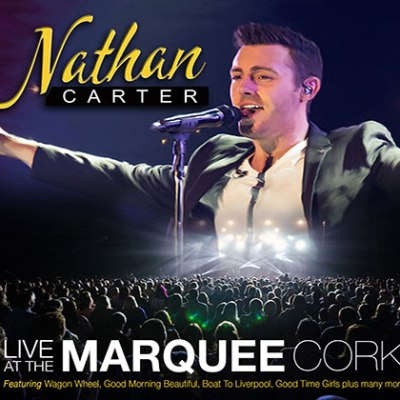 Nathan Carter Live At The Marquee Cork CD