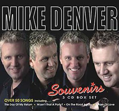 Mike Denver Souvenirs Box Set CD