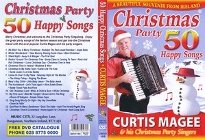 Curtis Magee50 Christmas Party Happy Songs DVD