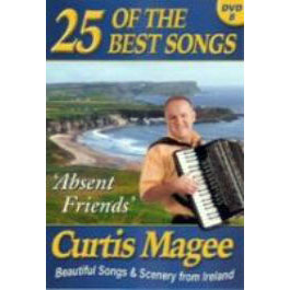 Curtis Magee 25 Of The Best Songs DVD