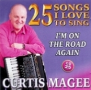 Curtis Magee 25 Songs I Love To Sing CD