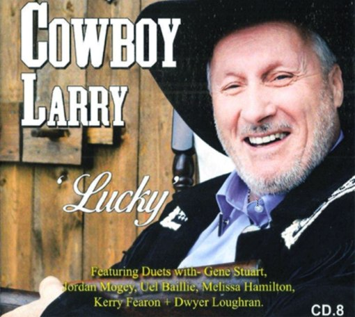 Cowboy Larry Lucky CD no 8