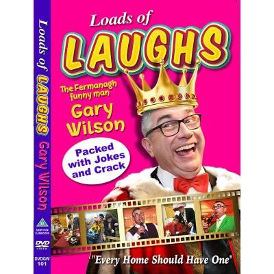 Loads of Laughs Gary Wilson DVD