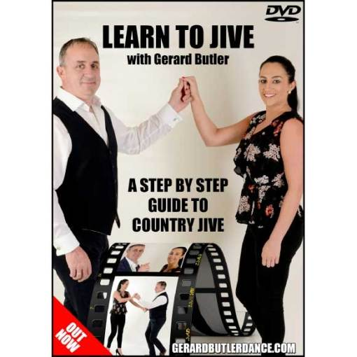 Gerard Butler Learn To Jive A Step Guide To Country Jive DVD