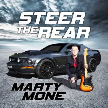 Marty's New Album Steer The Rear CD