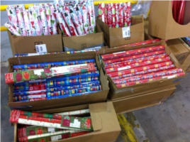 Annual Wrapping Paper Sale in Franklin