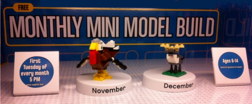 Lego Store Monthly Mini Model Build Nashville Fun Kids Free