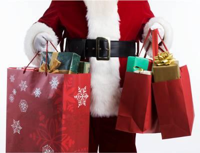volunteering with children christmas presents