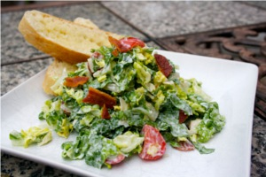 salad for children BLT salad recipe