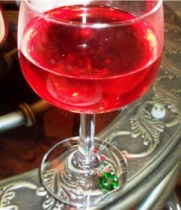christmas party mixed drink recipe cranberry bellini