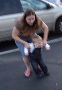 child tantrum grocery parenting advice