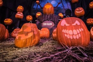 The Glow Jack o'lantern Experience Fontenel Nashville Giveaway Halloween Family Fun