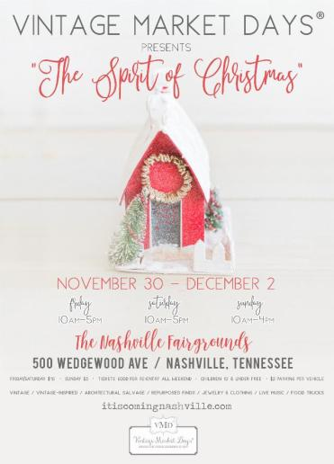 Christmas Village Holiday Market Nashville Fairgrounds